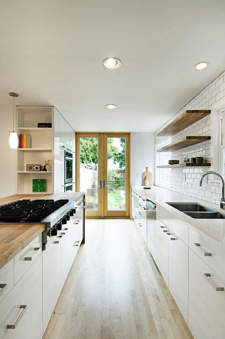 Best 25 Galley kitchens ideas on Pinterest  Galley kitchen remodel Galley kitchen design and