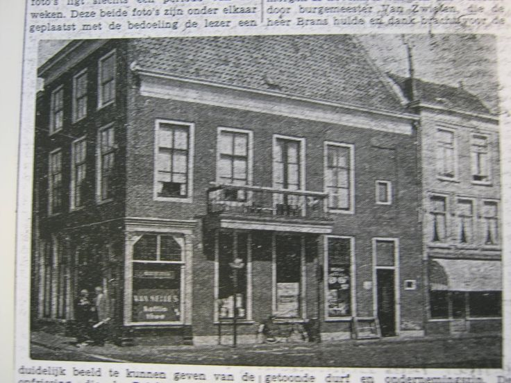 Hoek Voorstraat Visstraat.