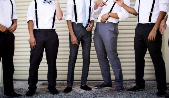 Groom + Groomsmen :  wedding silver white 310204 10150293150491381 650471380 8006809 5129083 N