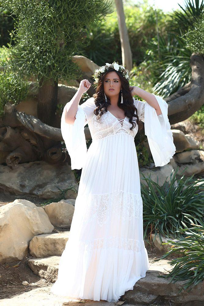 Boho Dreams Plus Size Wedding Gowns Studio Levana Couture Wedding Gowns Plus Size Wedding Dresses With Sleeves Plus Wedding Dresses Plus Size Wedding Gowns