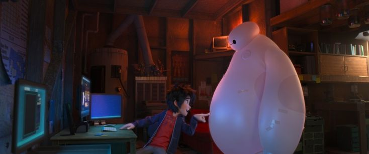 Walt Disney Animation Studios released a new Big Hero 6 clip tonight during ABC's Frozen special, and we have it for you to watch!