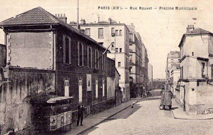 8 best paris 19e images on pinterest paris paris france - Piscine municipale paris 19 ...