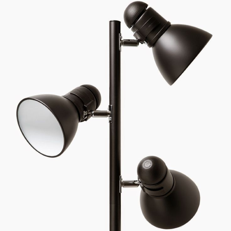 Boston Harbor TL-TREE-134-BK-3L 3-Light Tree Lamp, Black - Store Online for Your Live and Style