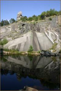Flossenbürg Weg des Granits