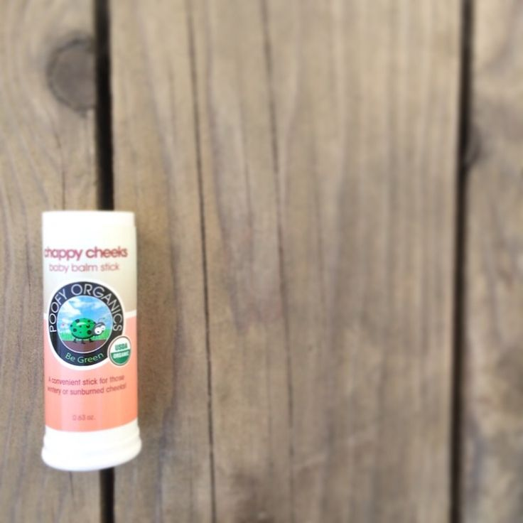 🌿Poofy Organics Chappy Cheeks Baby Balm Stick 🌿Made with organic sunflower oil, organic beeswax, organic cocoa butter, organic coconut oil. 🌿Helps heal wintery and sunburned cheeks. 🌿Makes a great fragrance free chap stick, too! 🌿Goes on smooth and its stick design makes its easy for on-the-go. 🌼stephhueston.poofyorganics.com