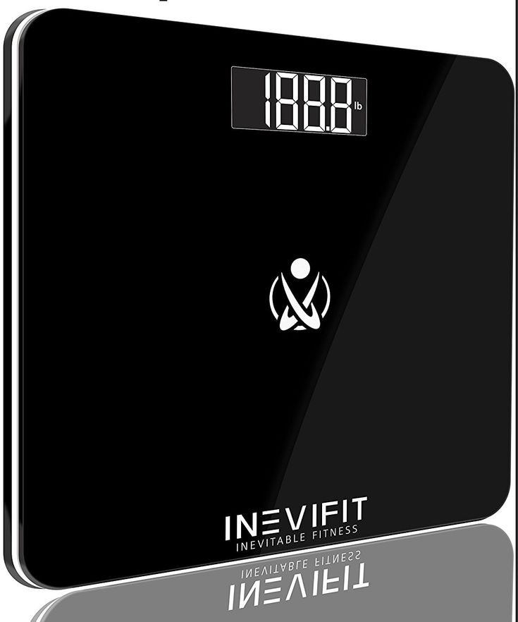 LITTLE BIG LIFE: This tiny digital scale is great for dorms, just push it under your bed!