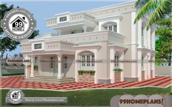 Architecture Small House Designs 80 Two Story Homes Designs Plans Village House Design Architectural House Plans House Arch Design