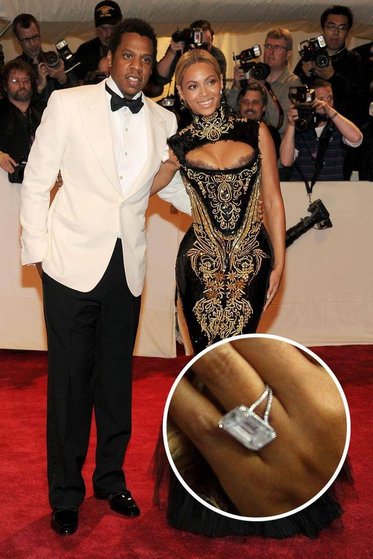 Beyoncé's 18 Ct Diamond Engagement Ring By Lorraine Schwartz From Jay Z  #beyonce #