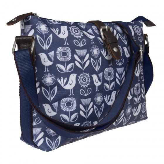 Paper Flower Crossbody Day Bag