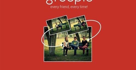 Groopic, app móvil para tomar fotos de grupos y que salga el fotógrafo