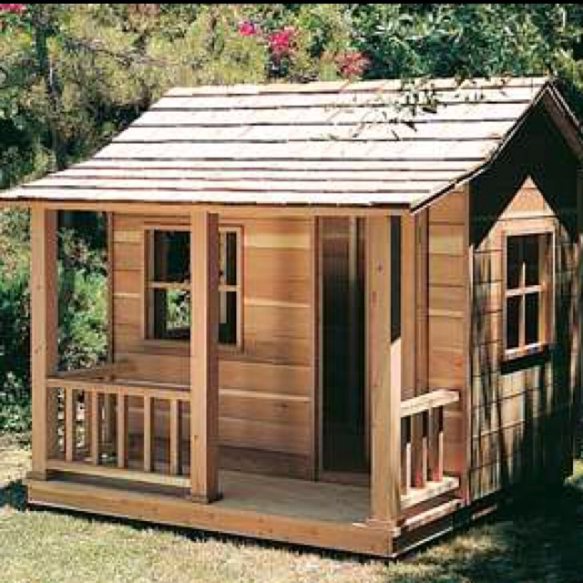 Build This Cozy Cabin Cozy Cabin Magazine Do It Yourself: Cute Little Playhouse For At The Cabin