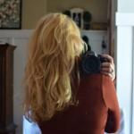 Curly Hair How To {Sock Bun Curling Method}