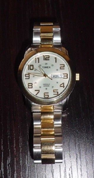 Details About Timex Indiglo Wr 50m Stainless Steel Back