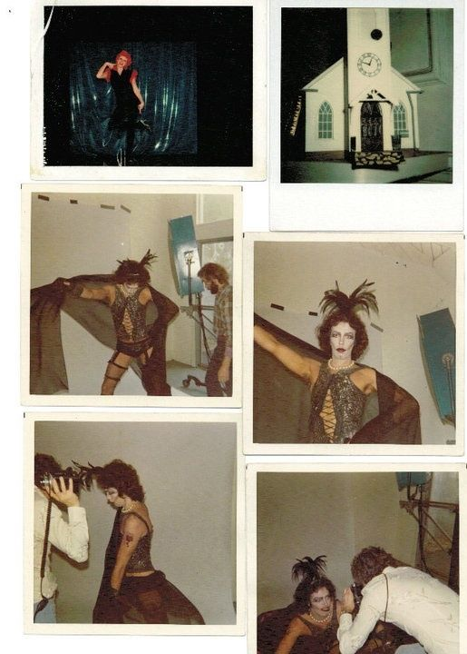 "PHOTOS: Lost Original ""Rocky Horror"" Polaroids Were Discovered In NYC Subway"