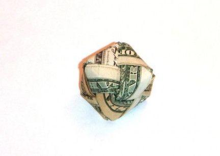Origami paper dress tutorials dollar bills 34 Ideas