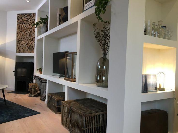 DIY: Wandkast met vakken - Eigen Huis en Tuin