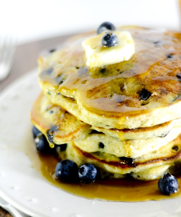Trisha Yearwood's Blueberry Pancakes - Recipe Diaries