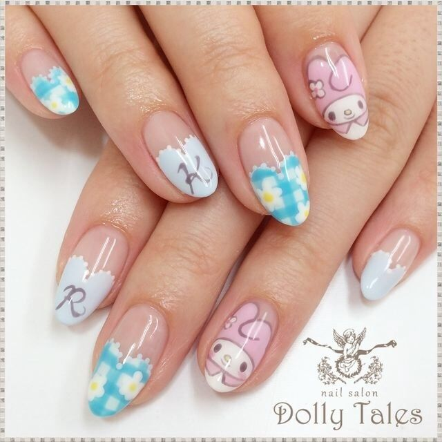 473 best Kawaii Nails images on Pinterest | Kawaii nails, Gel nails ...