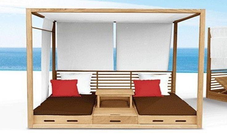 Altánek na spaní nebo postel s nebesy?