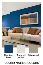 Nautical Blue Glidden Paint Colors I Love Pinterest Painting And Home