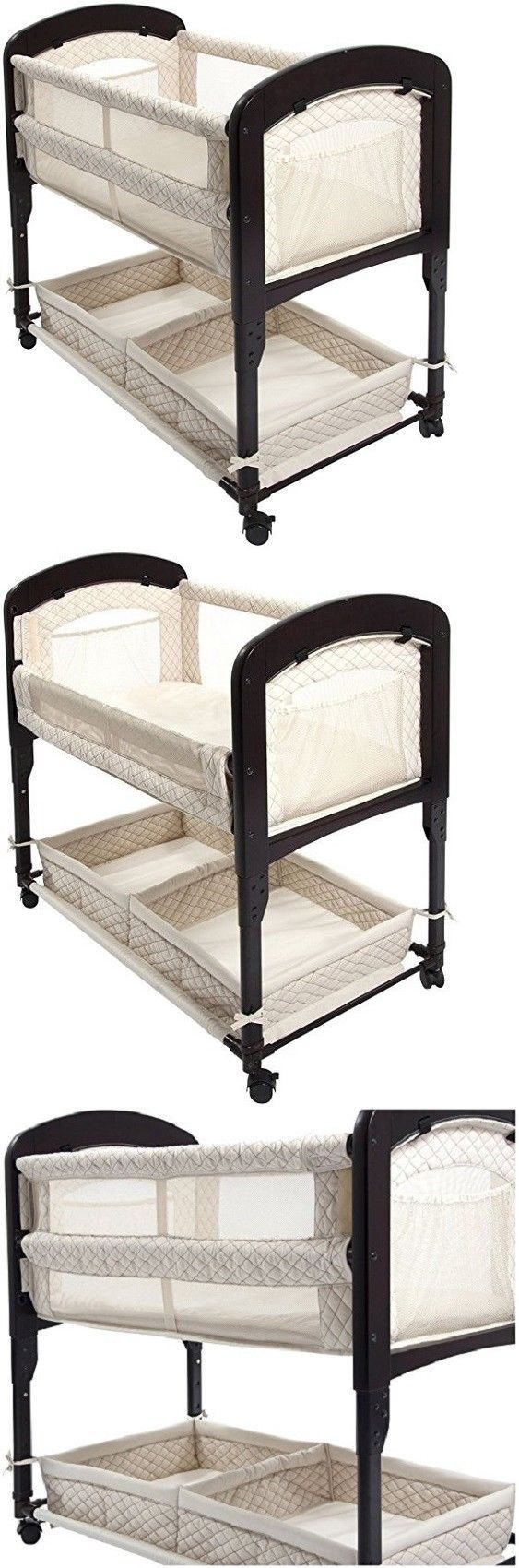Baby Co-Sleepers 121152: Baby Crib Bassinet Bed Sleeper Cradle Infant Child Newborn Nursery Furniture Kit -> BUY IT NOW ONLY: $252.99 on eBay!