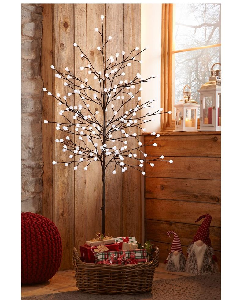 6ft Pre Lit 'Twig' Christmas Tree | very.co.uk