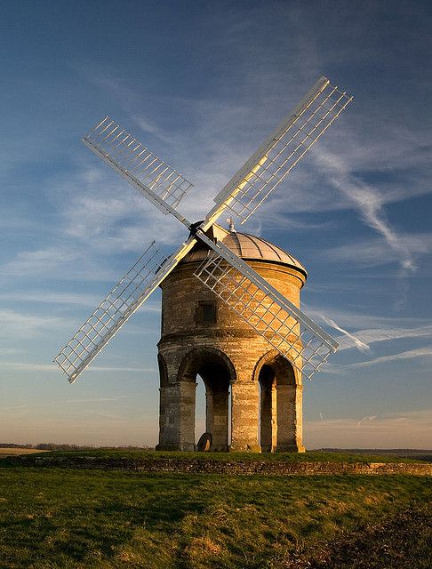 Chesterton Windmill is just off the Fosse Way about five miles to the south of Leamington Spa, near the village of Chesterton, Warwickshire.