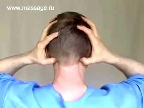 Samomasaža protiv bolova u vratu. - YouTube