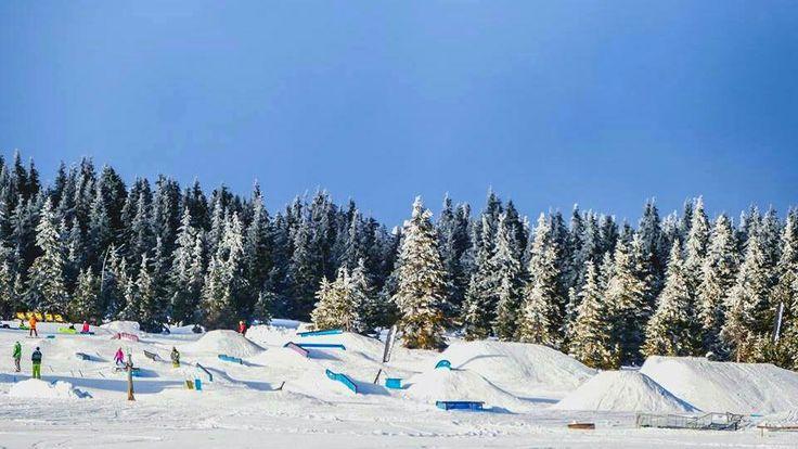 Snowpark Moravska bouda, CZ 2016