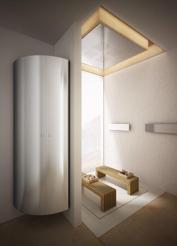 Radiador toallero de diseño modelo secretaire de Ad hoc