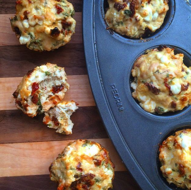 Another thing muffin tins are good for? Mini meatloaf cups that are super easy to pack in a lunch box.