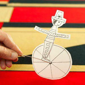 Circus Rider Toy | AllFreeKidsCrafts.com