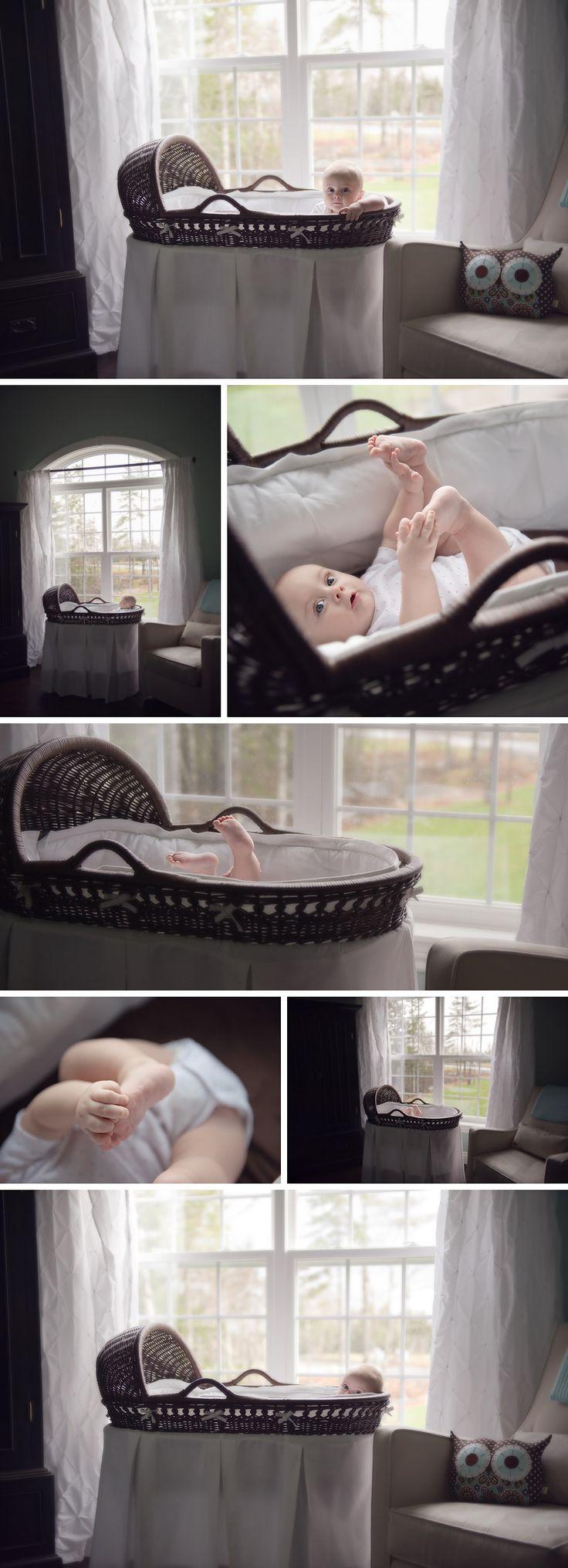bassinet inspiration! 3 6 month portrait ideas