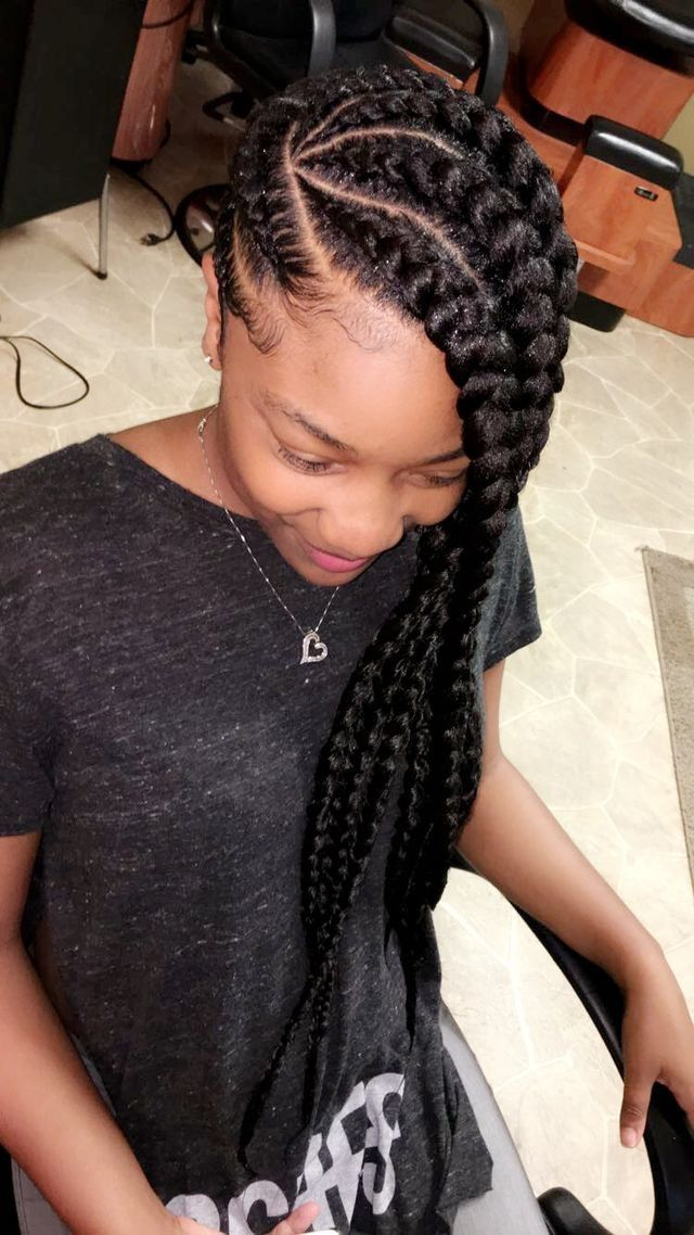 Pinterest Kayabrigette Natural Hair Styles Braided Hairstyles Box Braids Styling