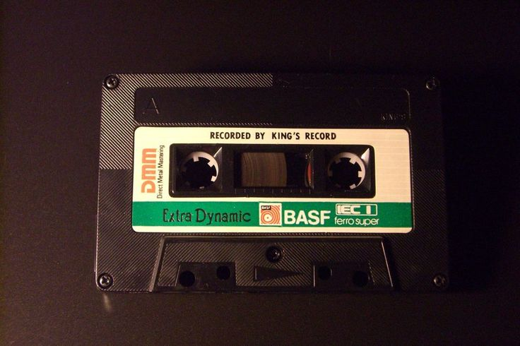 BASF VINTAGE AUDIO CASSETTE TAPE  EXTRA DYNAMIC 60  ( USED ) ( TYPE I ) RARE ! #BASF