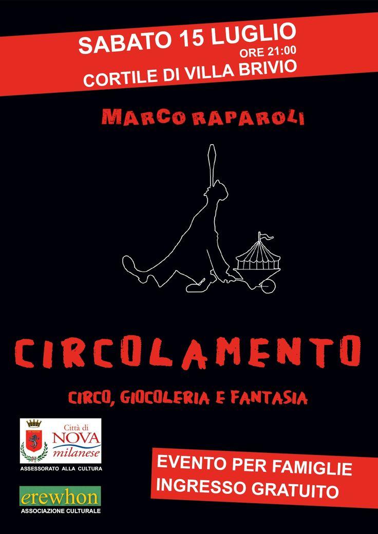 Circolamento - Circo, giocoleria e fantasia in Villa Brivio