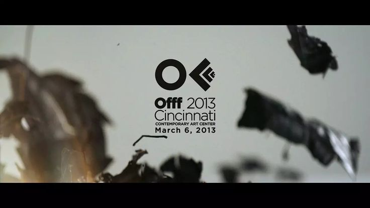 OFFF 2013 Cincinnati Opening Titles on Vimeo