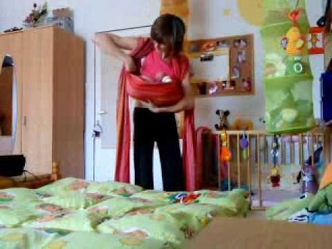 Kojo kolíska a väčšie dieťatko - Nursing cradle and an older child - YouTube