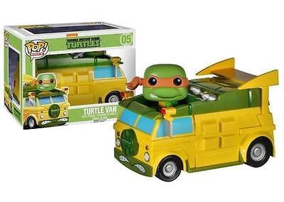 Teenage Mutant Ninja Turtles Funko POP! Turtle Van Pop Ride Vehicle.