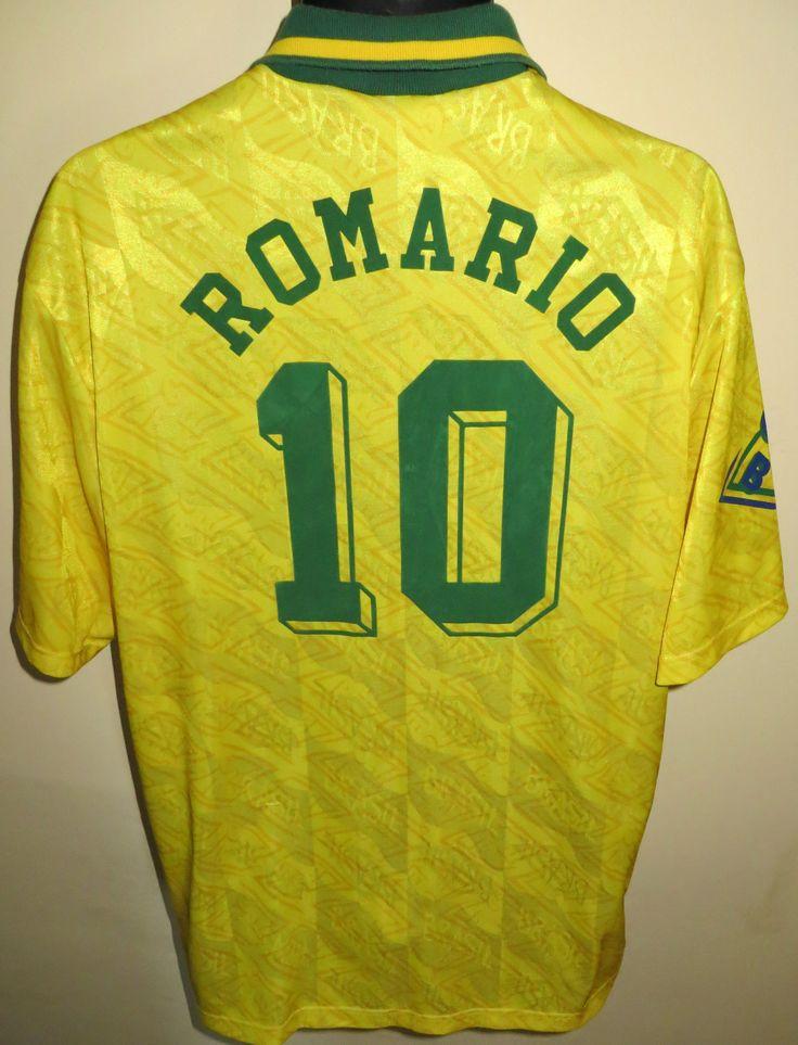 90s Brazil 'ROMARIO' shirt by Umbro