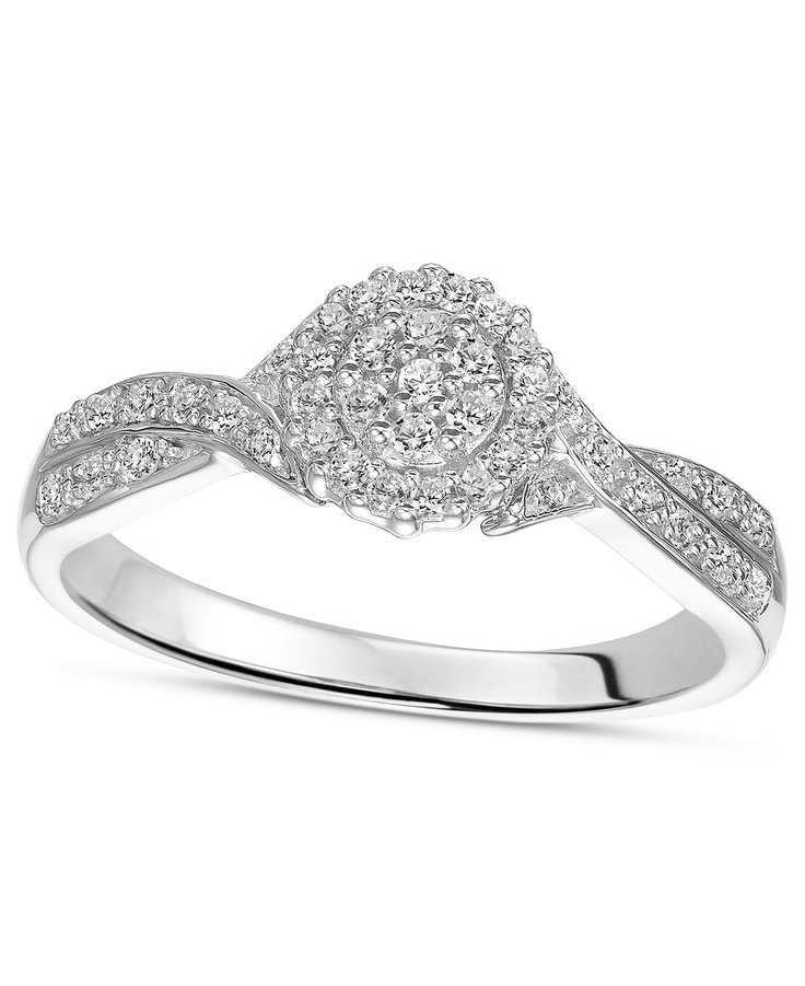 1000 images about sterling silver engagement