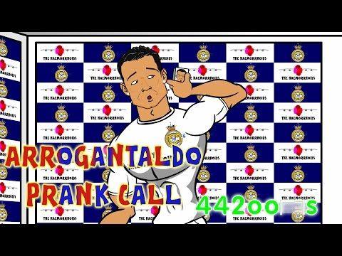 Real Madrid vs Juventus - RONALDO PRANK CALL BY MESSI AND SUAREZ! Parody (1-1 Champions League 2015) - YouTube