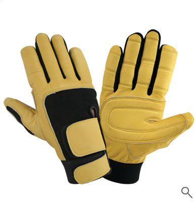 Anti Vibration Gloves Art No: KLI-5001 Size: S/M/L/XL MOQ: 10 Piece  Description: Palm Beige Soft Cowhide Leather With Extra Gel Padding, Top Spandex Double Velcro Closure.  For Sample & Custom Anti Vibration Gloves Order PM Or Email Us shafique@klinds.com  Website http://SafetyInStyles.com/  #KLI5001 #KLI #KomarooLeatherIndustry #KomarooLeather #LeatherIndustry #AntiVibrationGloves #Gloves #PalmBeigeSoftCowhideLeather #ExtraGelPadding #TopSpandex #Double #VelcoClosure #Leather