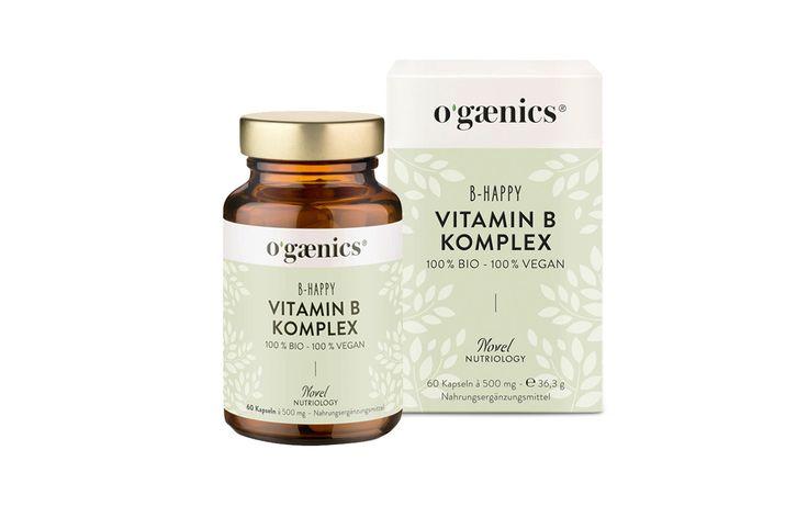 OGAENICS Vitamin B Komplex B-Happy – Hochwirksamer Vitamin-B-Komplex für schöne Haut, starke Nerven und neue Energie.  #ogaenics #nahrungsergänzung #detox #meister #parfumerie #beauty #hamburg #meister_parfumerie