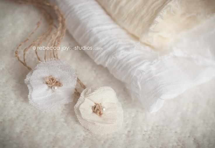 Semi-sheer GAUZE Wrap - Pure White-  Newborn Photo Prop -  Newborn Photo Prop - Maternity Photography Prop, Newborn Wrap. $38.46, via Etsy.