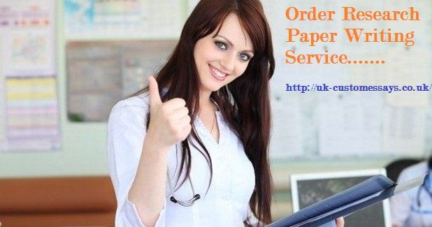 Research paper writing service is one of the most popular services provided by UK-Customessays. The service is to help students and researchers. For info visit http://uk-customessays.co.uk/researchpaper.php.
