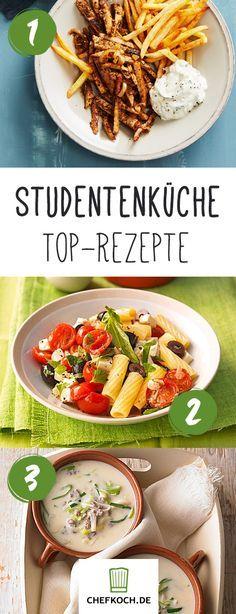 Studentenküche – bei diesen Rezepten staunt Mutti