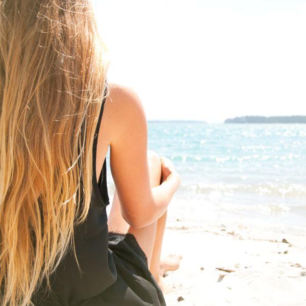 Black Romper. Beach life. #Romper #Style #Beach #MountMaunganui #Ocean #Swim #fashion