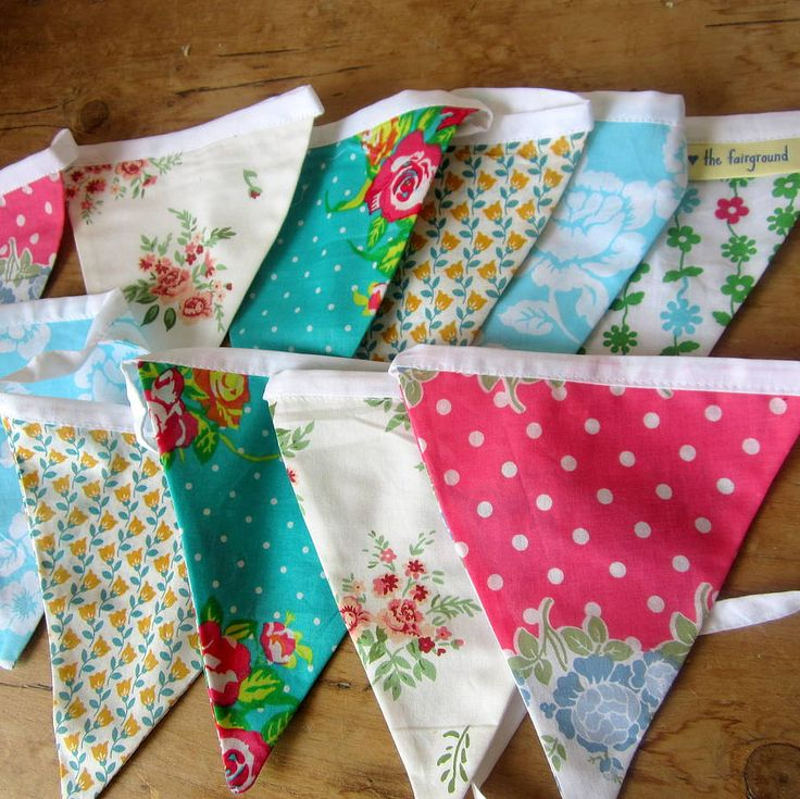 Bunting For A Fairground Wedding.