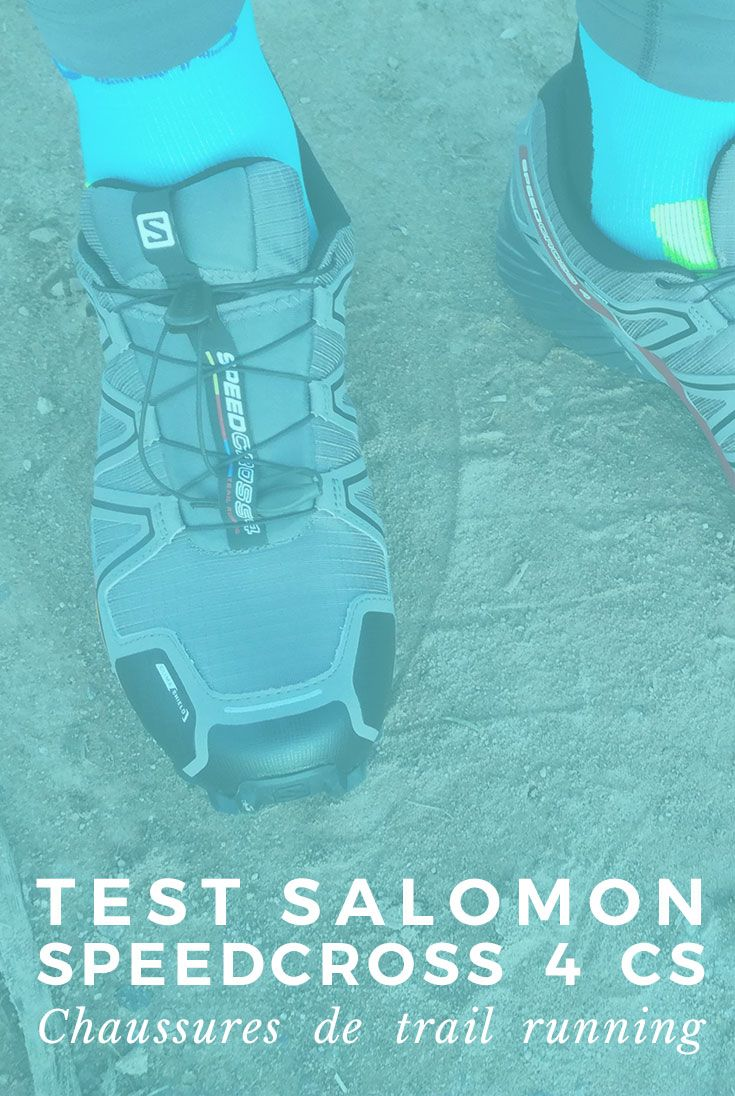 Test des chaussures de trail Salomon Speedcross 4 CS